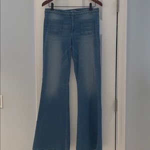 Guess bell bottom jeans